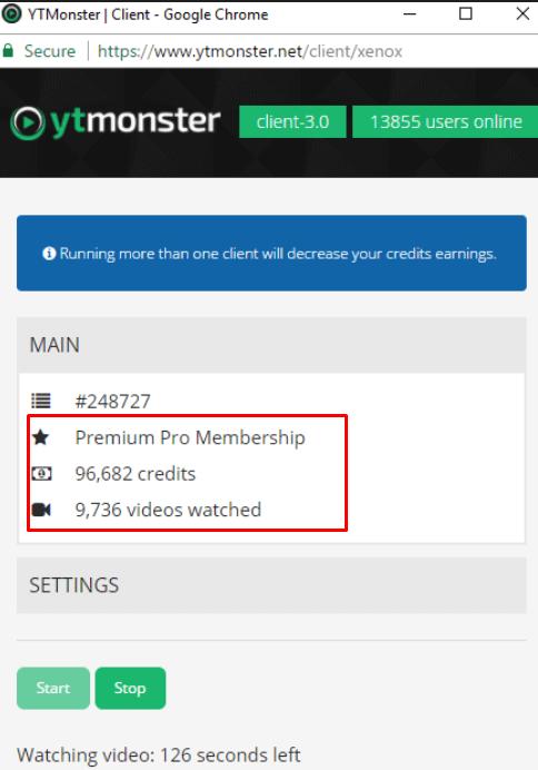 YTMonster Stats 2