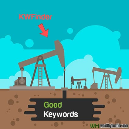 KWFinder Review keywords are like oil